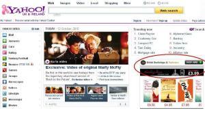 Yahoo-page